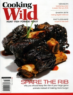 Cooking Wild Magazine Cover