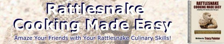 Rattlesnake Recipes Cookbook